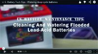 U.S. Battery Maintenance Tips Video
