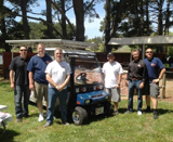 U.S. Battery With The Carting For A Cause Team