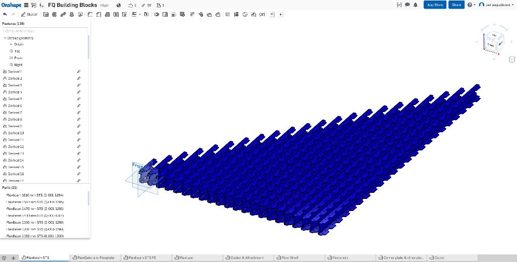 FlexQube and Onshape CAD