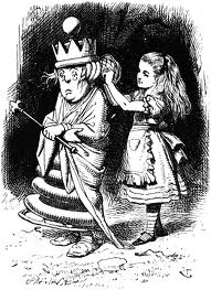 White Queen by John Tenniel