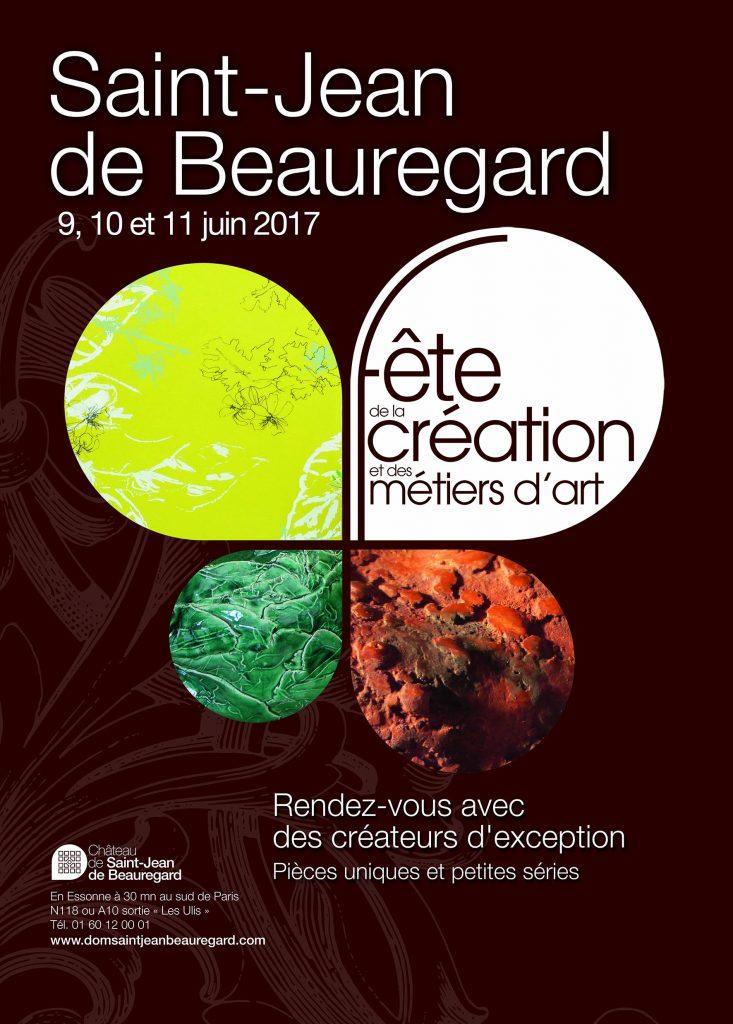salon des metiers d'art du chateau de Saint Jean de Beauregard