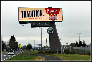 Rhonert Park Digital Billboard