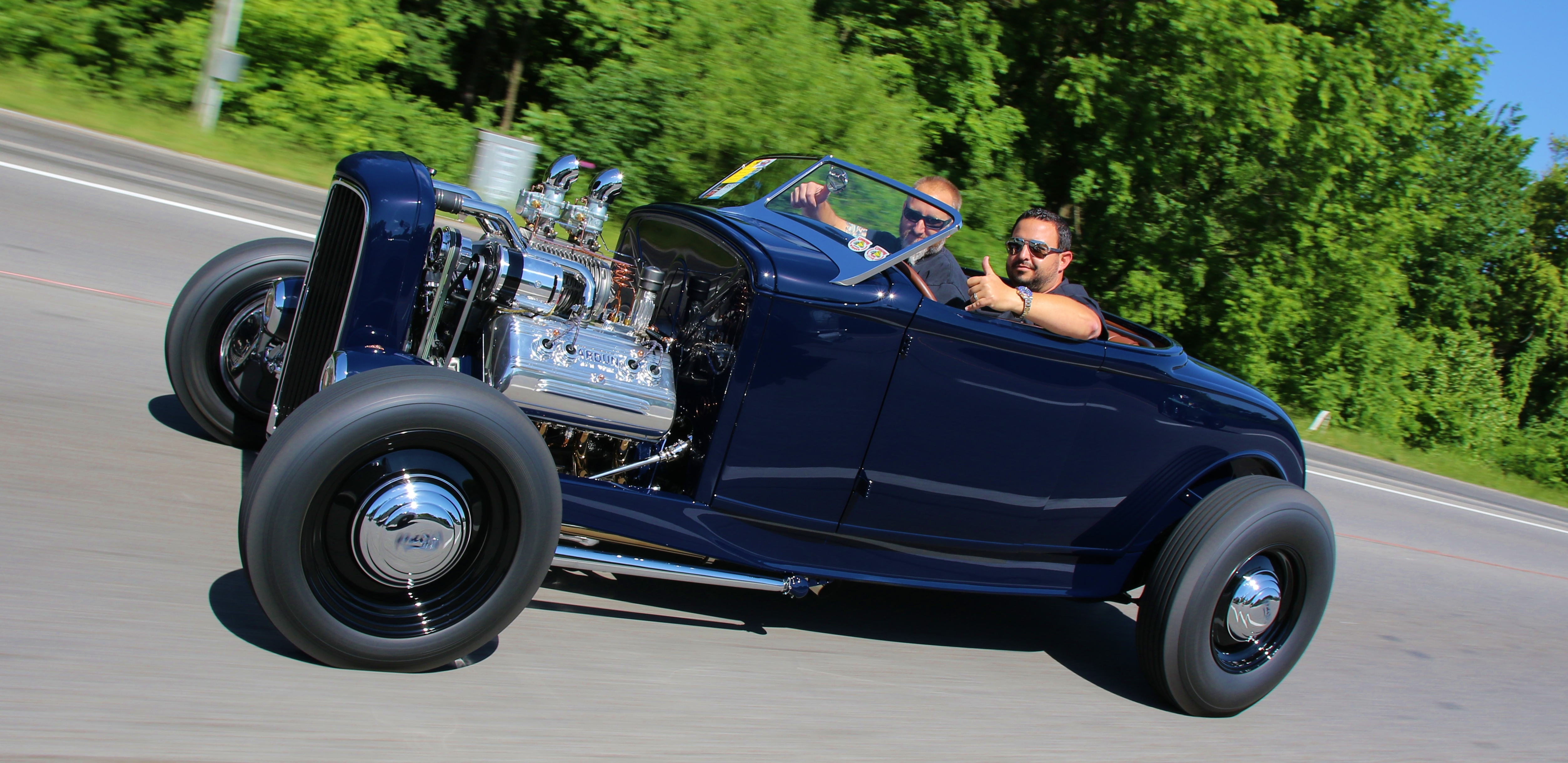 Brian George A-V8 Wins Hot Rod of the Year 2016