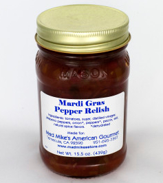 Mardi Gras Pepper Relish