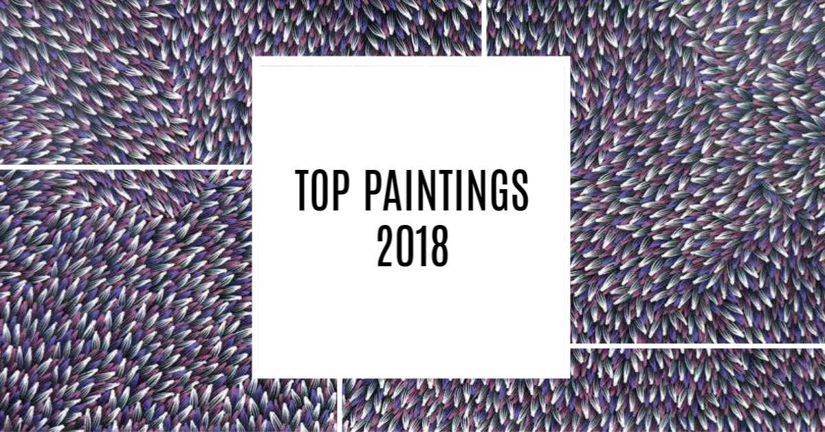 Find out the most popular paintings of 2018.