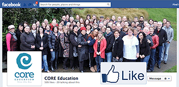 CORE Facebook page