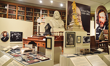 Albert Pike Museum and Collection