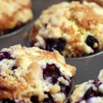 Guilt Free Blueberry Muffins