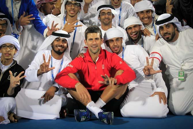 Mubadala World Tennis Championships Abu Dhabi