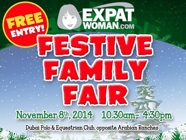 ExpatWoman.com Festive Family Fair