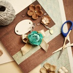 Crafters at ExpatWoman.com Festive Family Fair