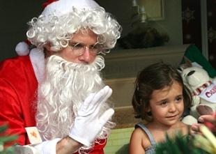 Santa's Grotto at ExpatWoman.com Festive Family Fair