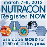 GOED Member Discount for Nutracon