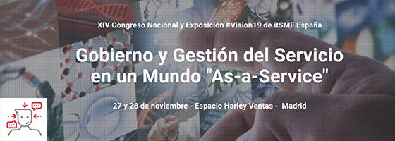 ITSM4U 288: VISION19 - Reserva tu plaza