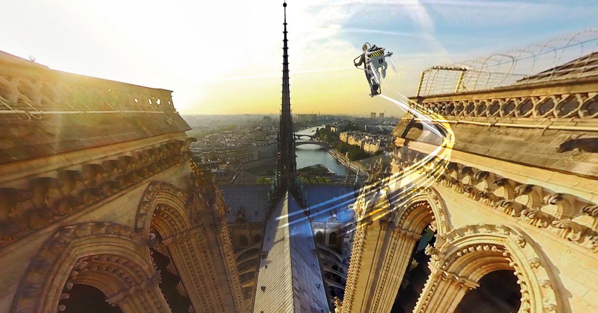 FlyView l'incroyable expérience de survol de Paris à tester pendant les vacances.