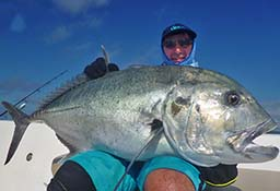Giant Trevally Popping Andamans