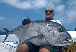 Giant Trevally Popping Andaman