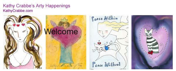 Kathy Crabbe's Arty Happenings Newsletter
