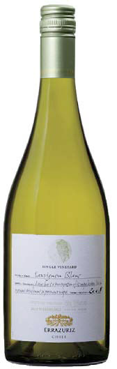 ERRÁZURIZ 2008 SINGLE VINEYARD SAUVIGNON BLANC