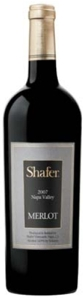 Shafer Vineyards Merlot 2007