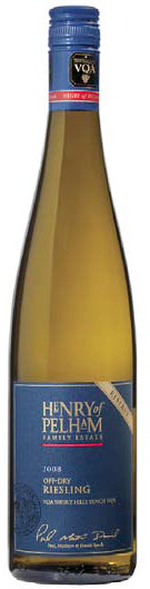 HENRY OF PELHAM 2008 OFF-DRY RESERVE RIESLING