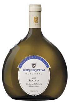 BÜRGERSPITAL WÜRZBURGER 2007 SILVANER KABINETT TROCKEN