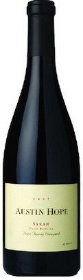 Austin Hope Family Vineyard Syrah 2008