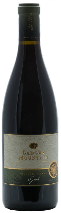 Badger Mountain Vintner's Estate Organic Syrah 2008