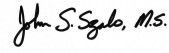 John S. Szabo, MS