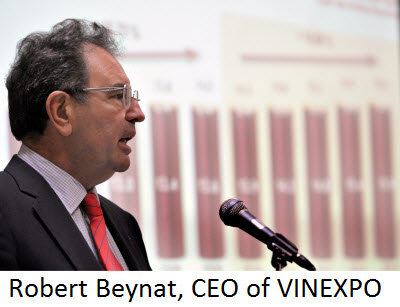 Robert Beynat, CEO of VINEXPO