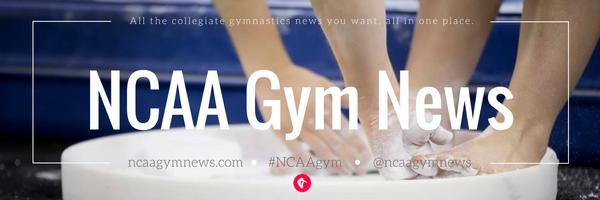 NCAA Gym News header