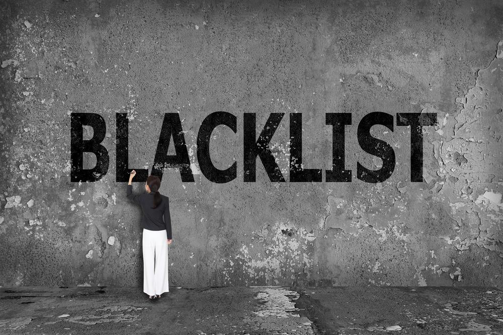 email blacklist