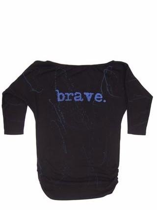 """Mary Shirt """"Brave"""" - lillypark.com"""