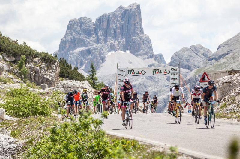 Maratona Dles Dolomites e Selle Italia