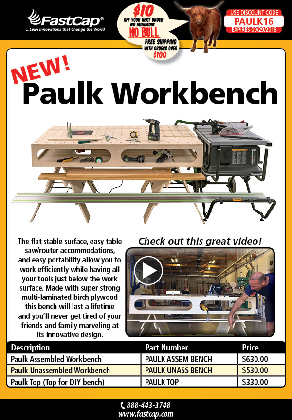FastCap's Paulk Workbench