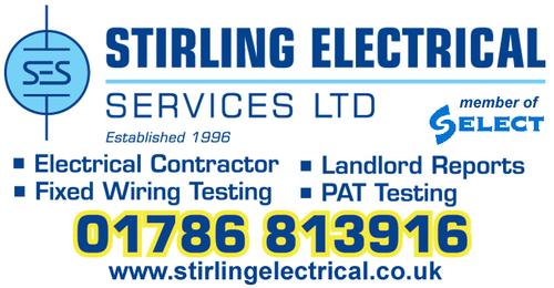 Stirling Electrical Services Ltd. - 01786 813916 - www.stirlingelectrical.co.uk