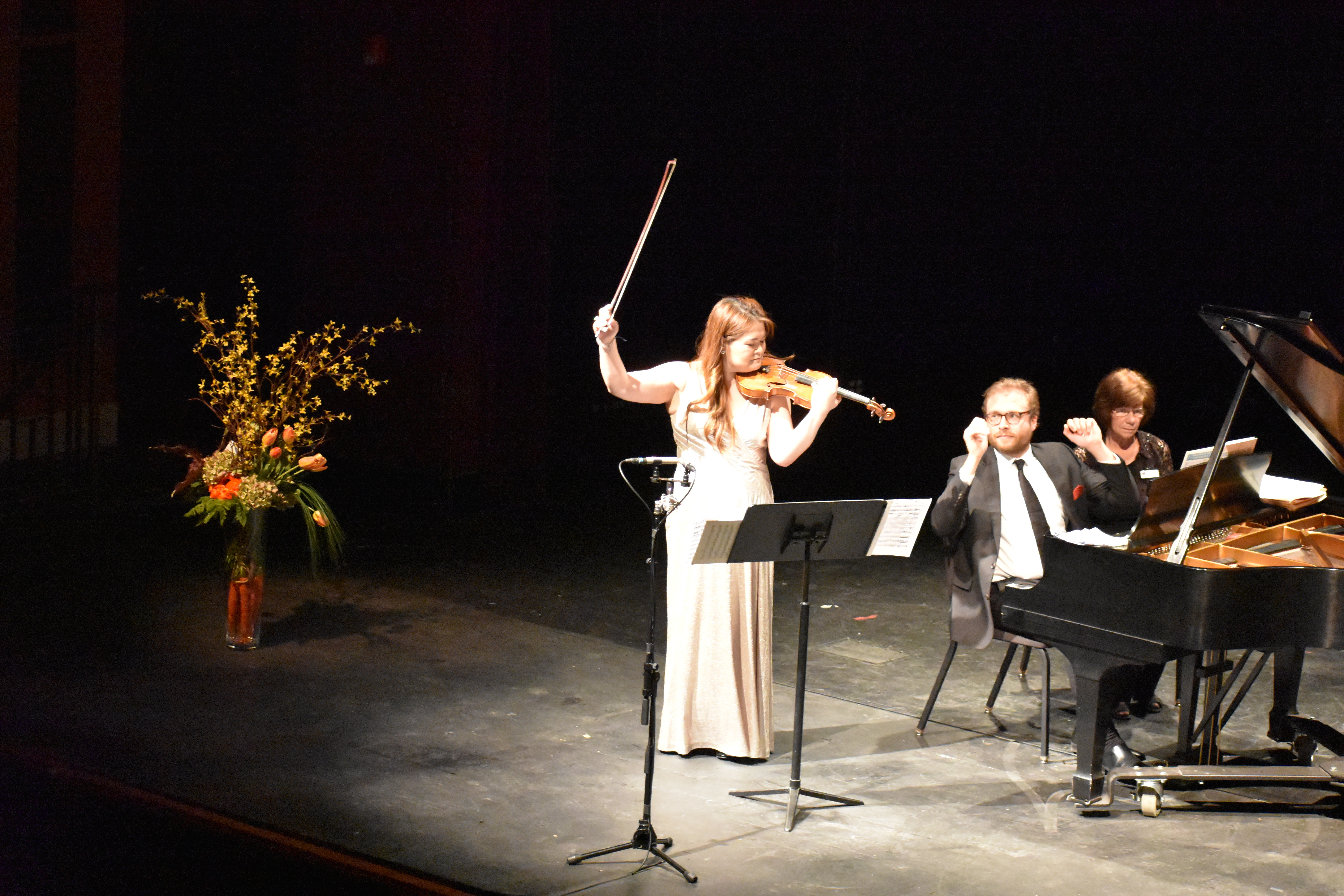 Crown City String Quartet performs at Wille Hall