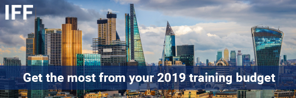 Get the most from your 2019 training budget with IFF