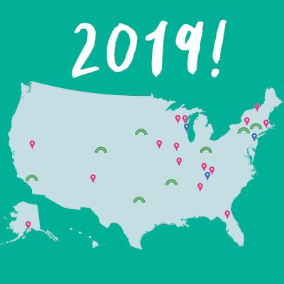 2019 Levitt locations
