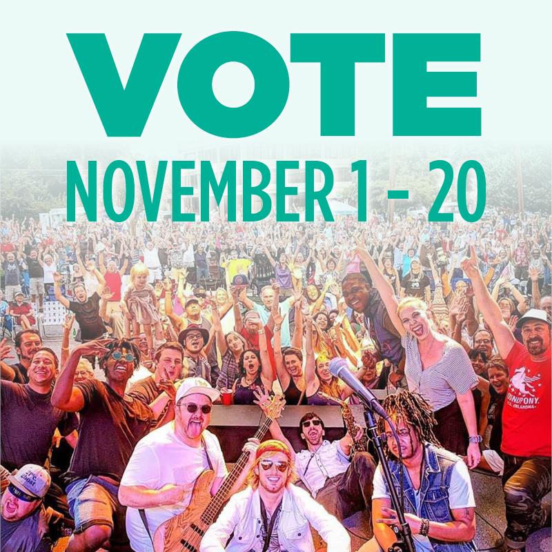 Vote November 1-20
