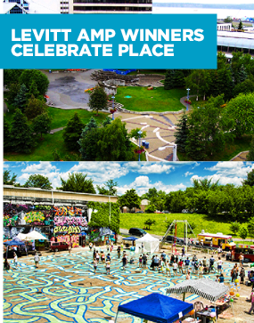 Levitt AMP Winners Celebrate Place Image