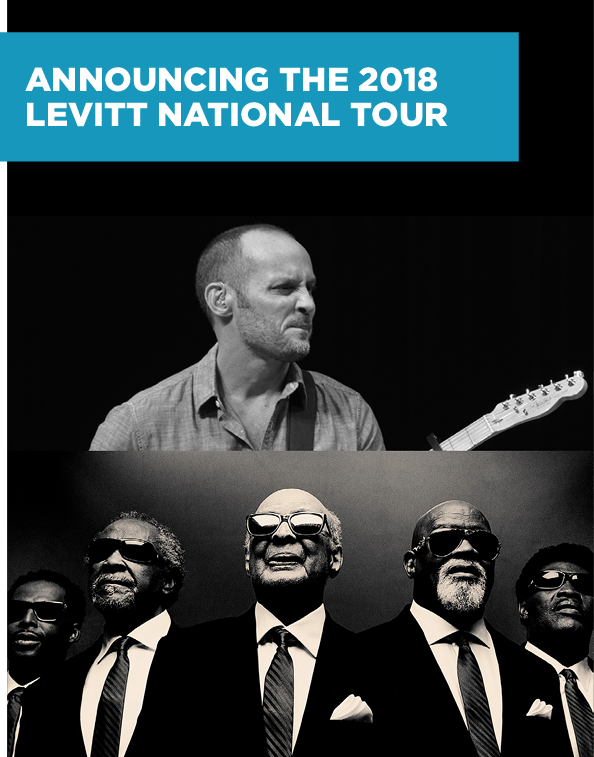 Announcing the 2018 Levitt National Tour