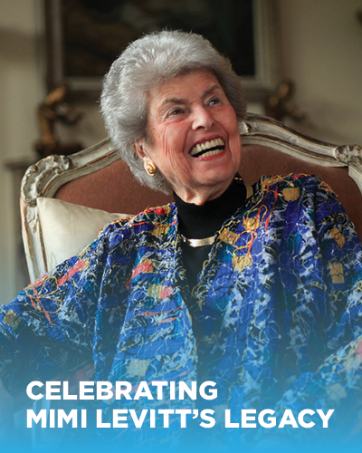 Celebrating Mimi Levitt's Legacy
