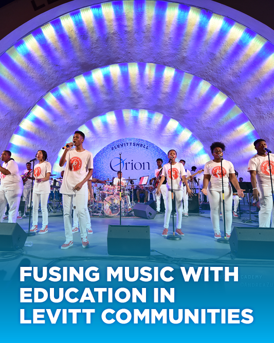 Fusing music with education in Levitt communities