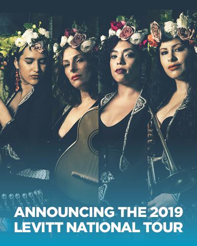 Announcing the 2019 Levitt National Tour