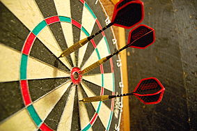 Picture of dartboard