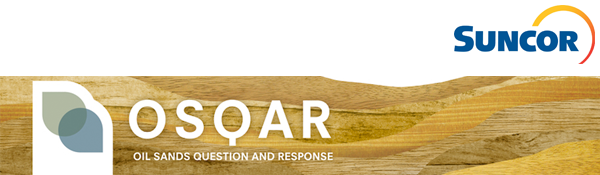 Suncor Energy's Oil Sands Question and Response