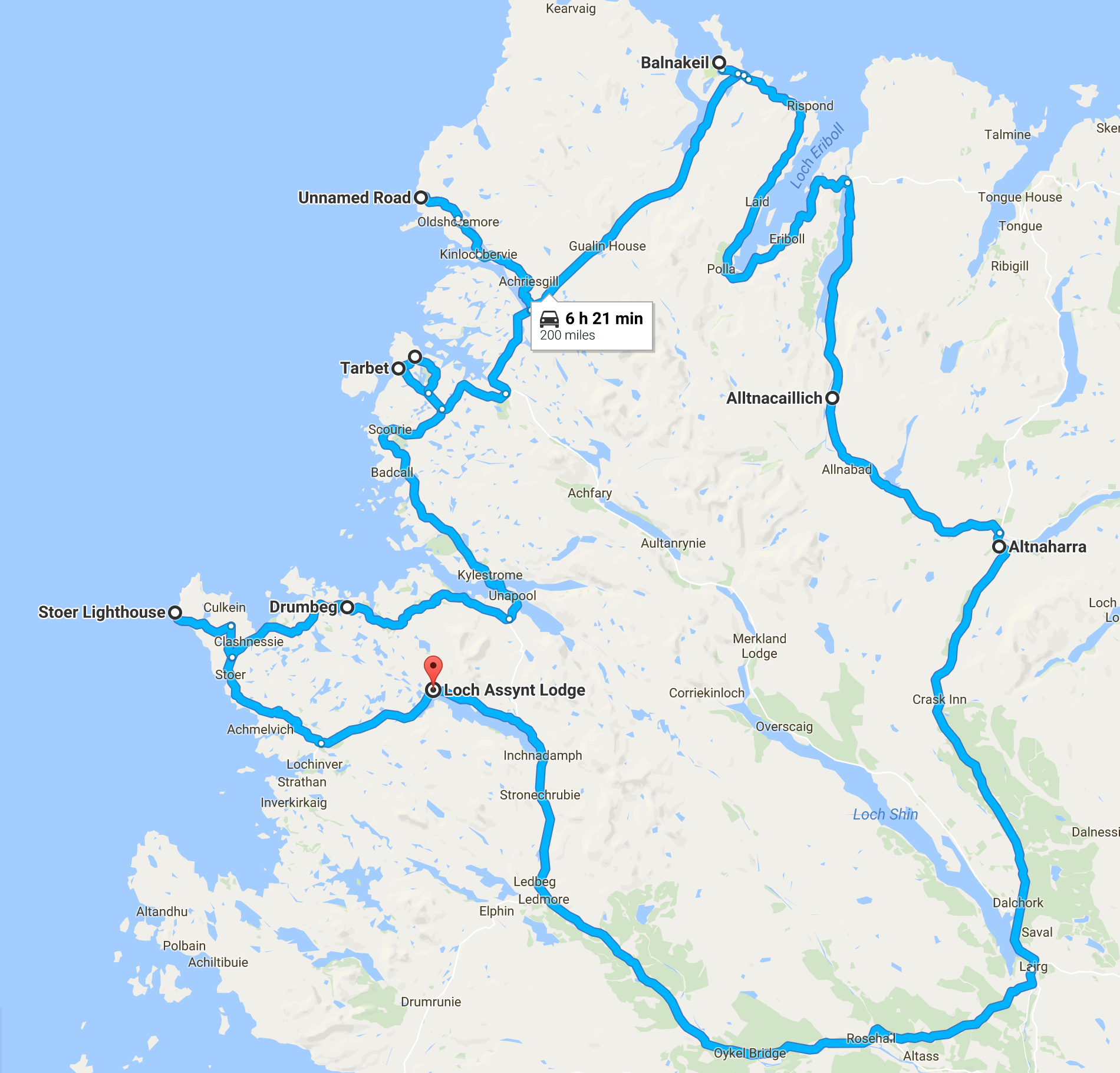 Loch Assynt Route - Day 2