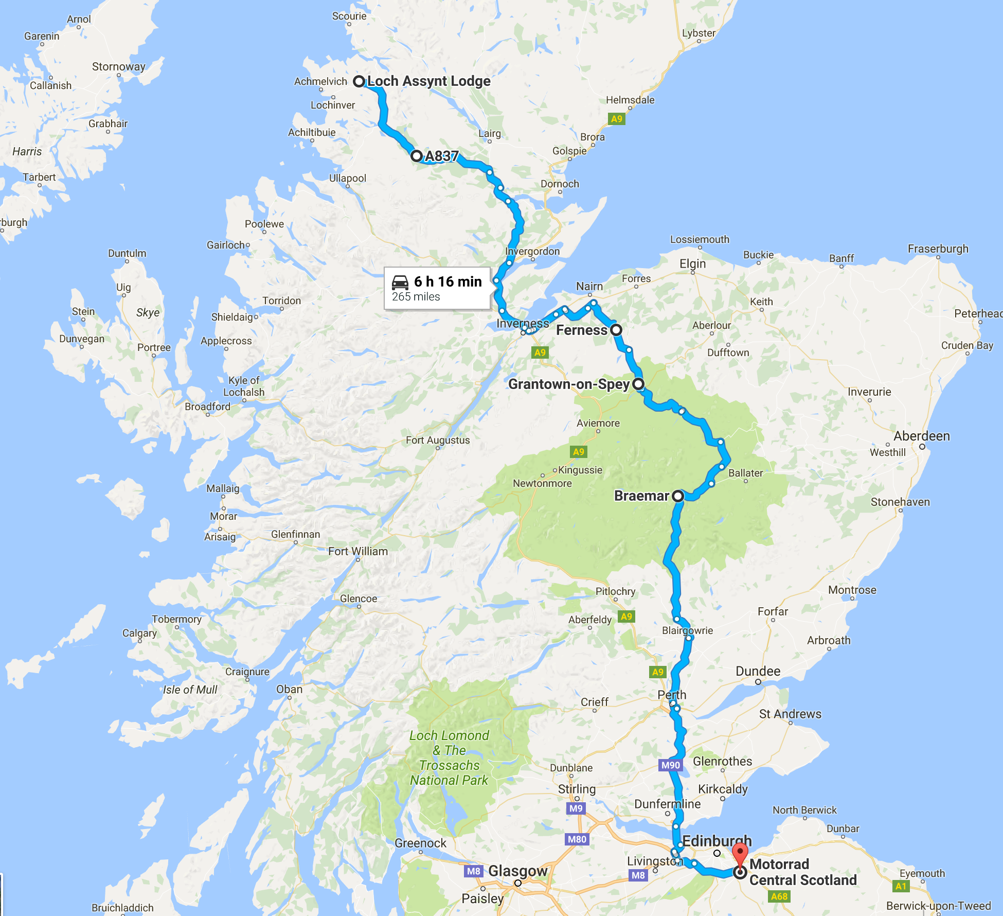 Loch Assynt Route - Day 3