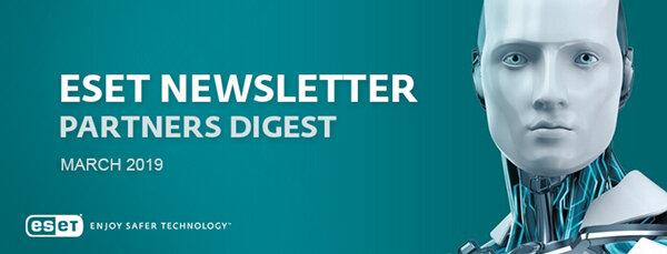 ESET March Newsletter